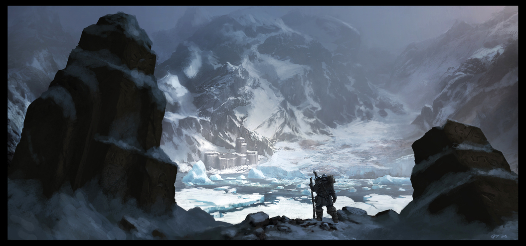 Glacier Wasteland by Gaius31duke1