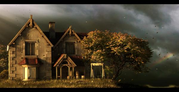 "Pic®: ""old house"" by morxx-d5isl8l"